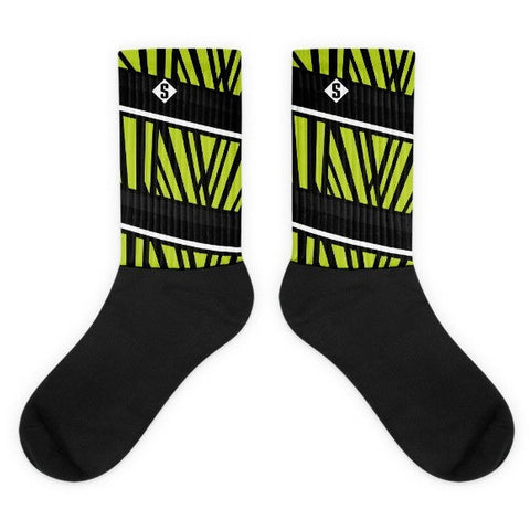 Savage Jungle Green Socks