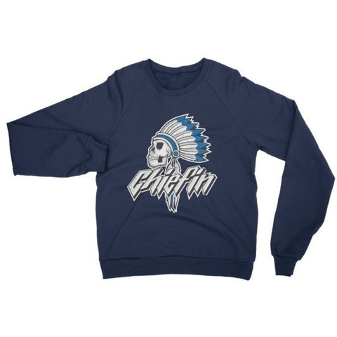Savage Chiefin' French Blue 12's Crewneck