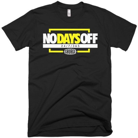 Savage No Days Off Wu-Tang Foams Tee