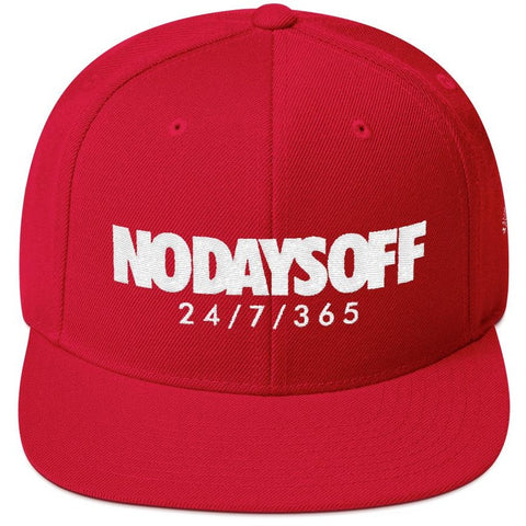Savage No Days Off Snapback Hat