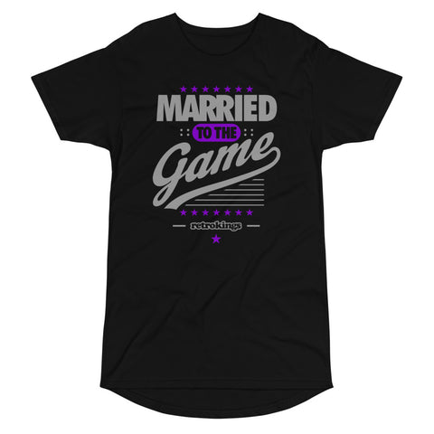Retro Kings Married to the Game Elongated Tee