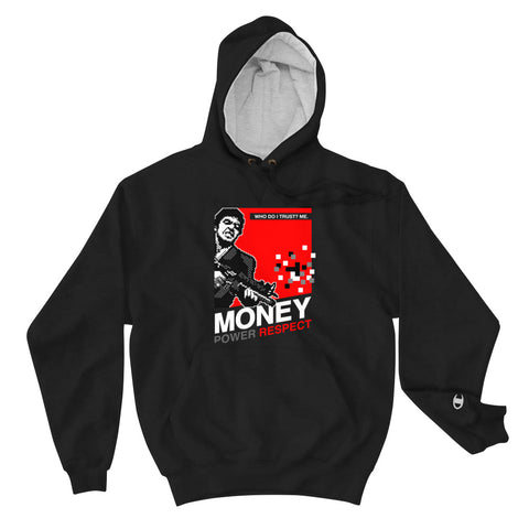 Retro Kings X Champion Money Power Respect Bred Hoodie