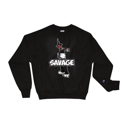 Savage X Champion Be a Menace Sweatshirt