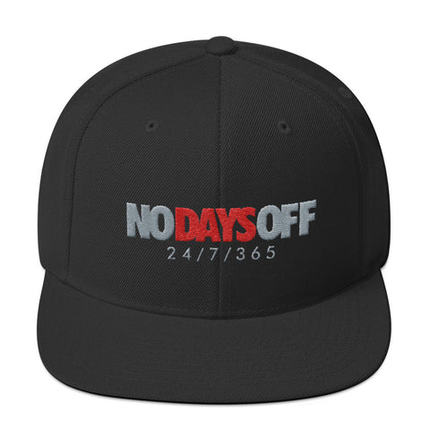 Savage No Days Off Cement 3s Snapback Hat