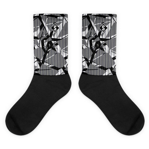 Savage Halen Dark Grey Socks
