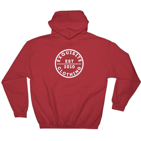 Exquisite Circle Hooded Sweatshirt