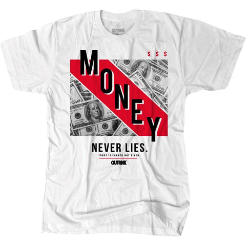 OutRank Apparel Money Never Lies History of Flight 13s Tee