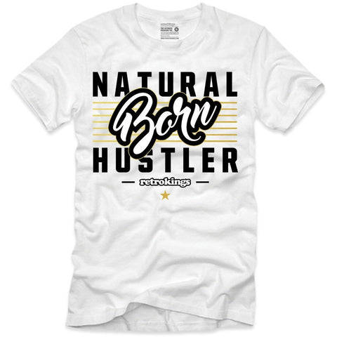 Retro Kings Clothing Natural Born Hustler Pinnacle 6's Tee