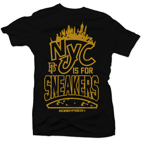 Bobby Fresh NYC is For Sneaker NYC 10's Tee