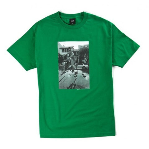 Huf 89 Quake Kelly Green T-Shirt