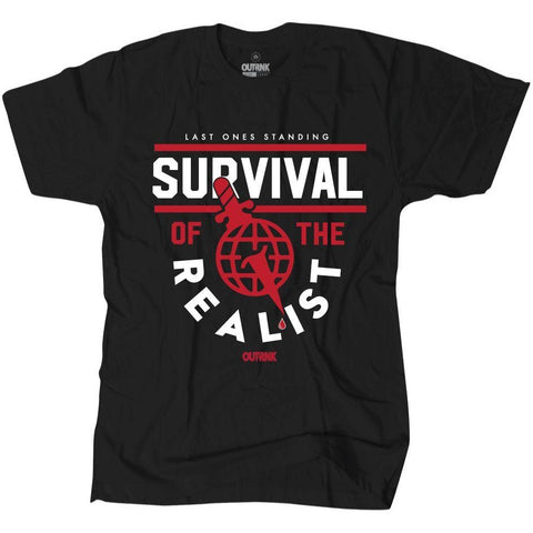 OutRank Apparel Survival of the Realist Bred 13s Tee