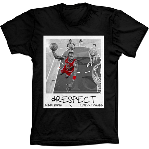 Bobby Fresh MJ Respect Flu Game 12's Tee