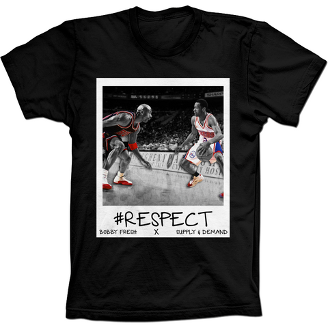 Bobby Fresh Iverson Flu Game 12's Tee