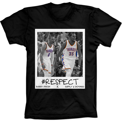 Bobby Fresh Durant and Westbrook Respect Tee