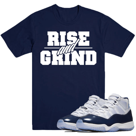 Dapper Sam Rise and Grind Win Like 82 11s Tee