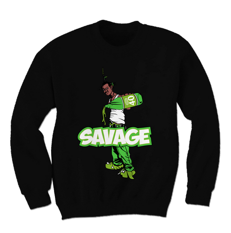 Savage Be a Menace Altitude 13s Sweatshirt