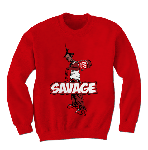 Savage Be a Menace Win Like 96 11s Sweatshirt