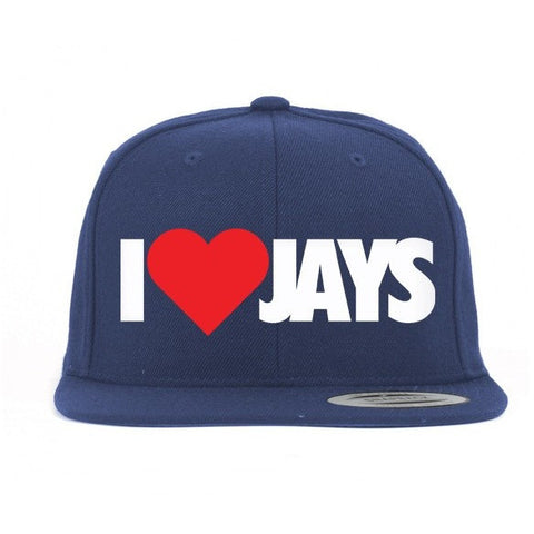 Savage Dream I Heart Jays Olympic 7's Snapback Hat