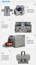 The Moderne Executive | Travel Duffle Bag