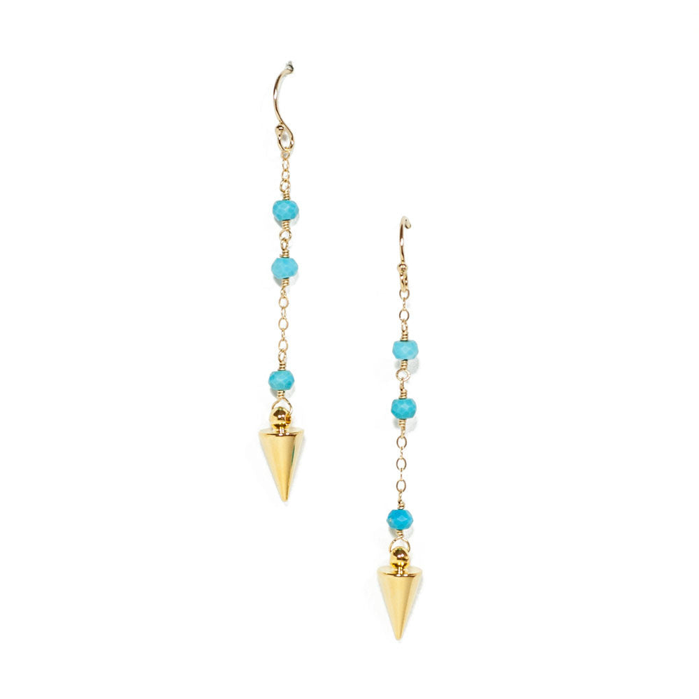 Gina Luce Mini Spikes Earrings