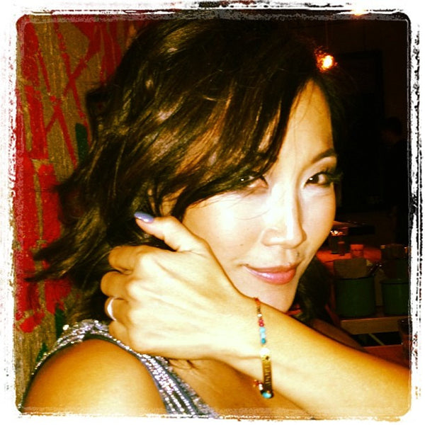 Carrie Ann Inaba wears Adopt Bar Bracelet