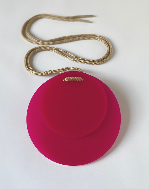 Pop Pink Apartment 5B jewellery necklace