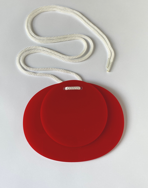Pop Red Apartment 5B jewellery necklace