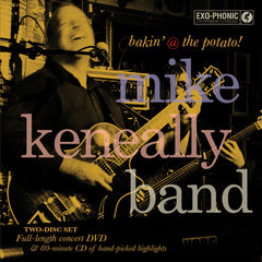 "Mike Keneally Band ""bakin' @ the potato!"" DVD/CD"