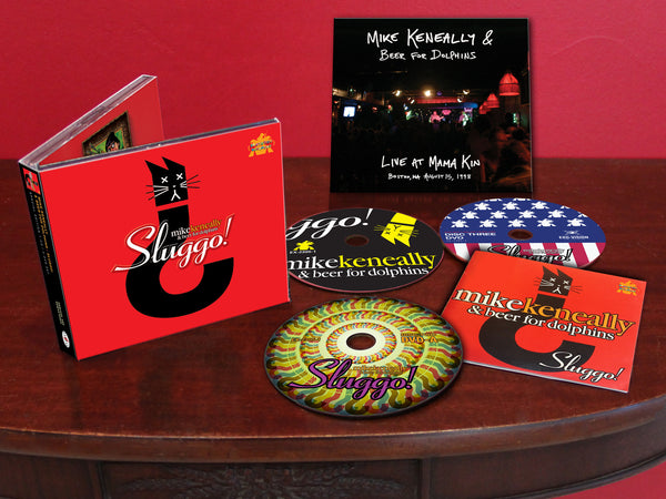 "Mike Keneally & Beer For Dolphins ""Sluggo!"" SuperDeluxe (2CD+2DVD+Download)"