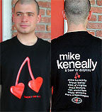 "Mike Keneally & Beer For Dolphins ""Dancing Tour '01"" T-Shirt"