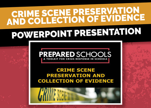 Crime Scene Preservation and Collection of Evidence (PowerPoint Presentation)