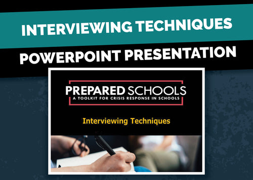 Interviewing Techniques (PowerPoint Presentation)