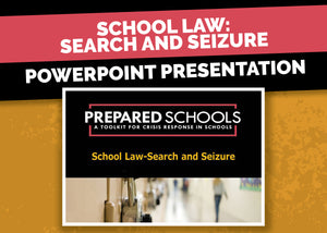 School Law: Search and Seizure (PowerPoint Presentation)