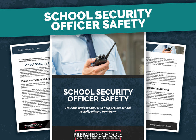 School Security Officer Safety