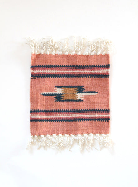 Mini Native Woven Rug