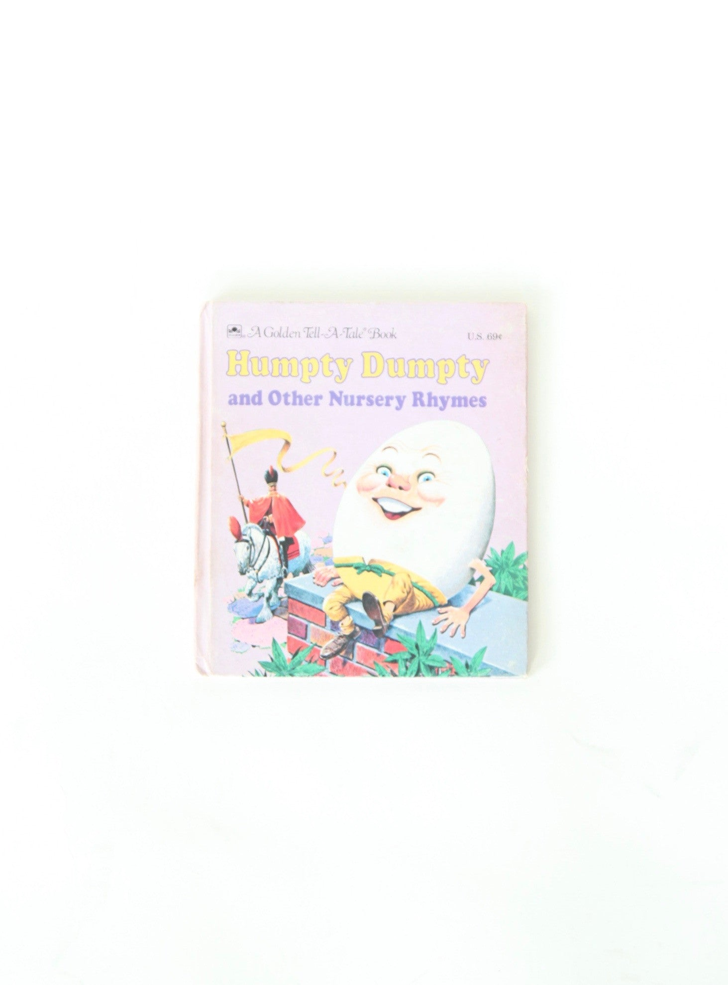 Vintage Children's Book Humpty Dumpty and Other Nursery Rhymes