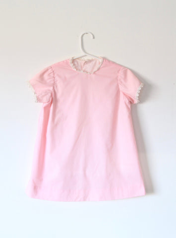 Vintage Children's Pink Aline Dress