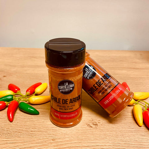 Chile de Arbol Ground Shaker 120gr.