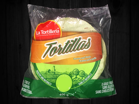 Tortillas Corn and Cactus 5.5""