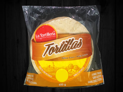 La Tortilleria, Yellow Corn tortillas 5.5""