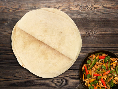 La Tortilleria White Flour Tortillas 13""