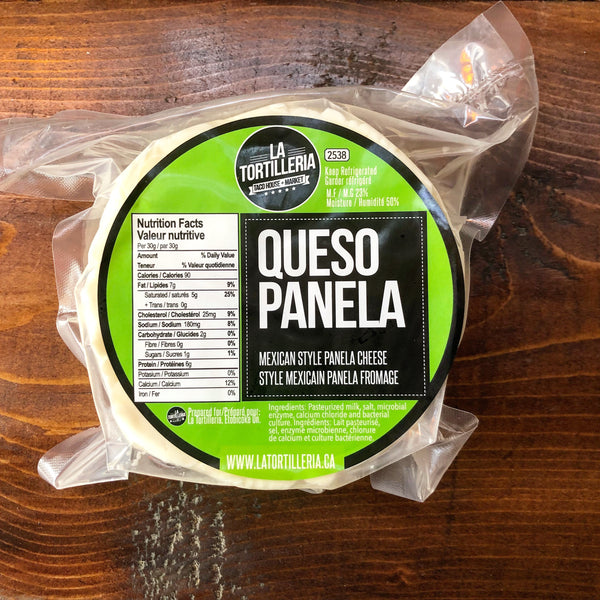 Panela Cheese - La Tortilleria