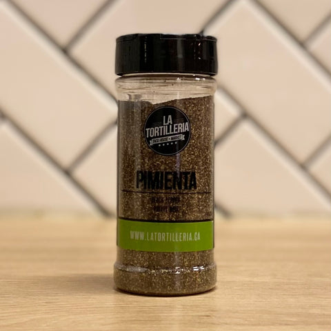 Black Pepper Ground 100gr. Pimienta Molida Shaker