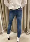 ITALIAN STAR JEAN - WASH DENIM