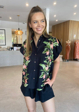 KENZIE COTTON DRILL DRESS - KHAKI