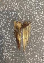 Load image into Gallery viewer, GOLDEN FRINGE EARRINGS LONG
