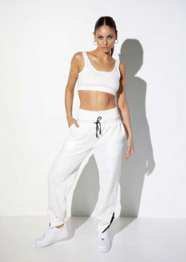 JAX CROP - WHITE - SALE