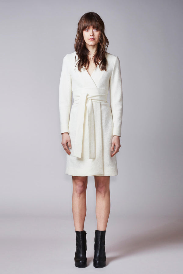 HUURRE coat in off-white