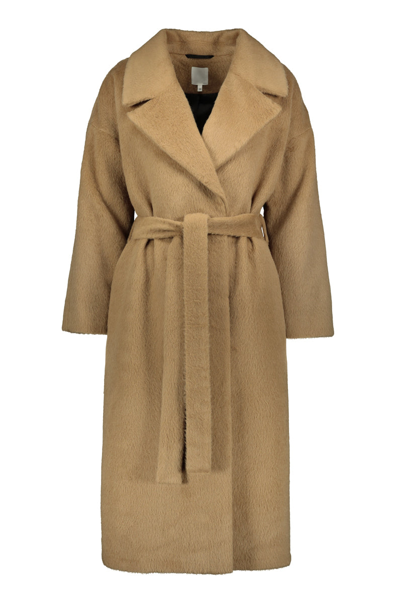 KAAMOS long coat in camel