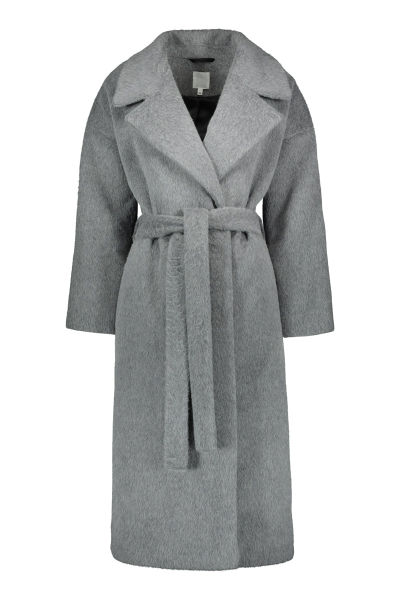 KAAMOS long coat in grey